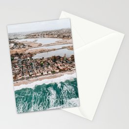 St. Malo, Oceanside, Ca from Helicopter Stationery Cards