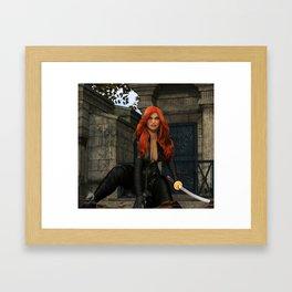 Graveyard Vengeance Framed Art Print