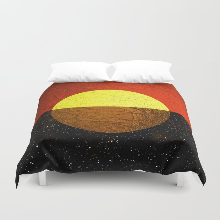 Abstract #227 Duvet Cover