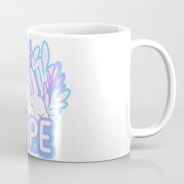 Nope // Tired Bunny Coffee Mug