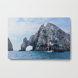 The Arch of Cabo San Lucas Photography Print Metal Print