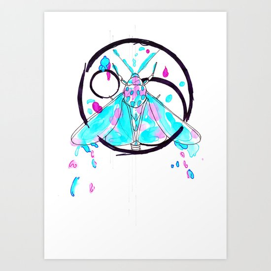 Dust Out Art Print