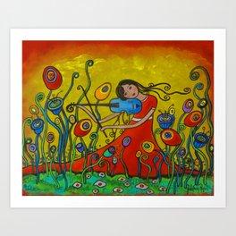 Meadow Song Art Print