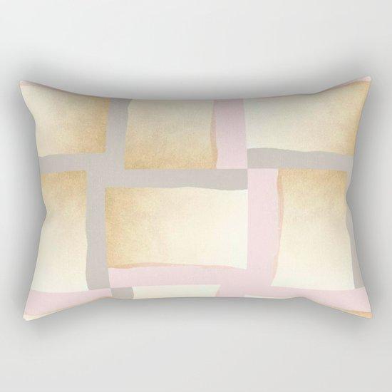 Pastels + Gold #society6 #decor #buyart Rectangular Pillow