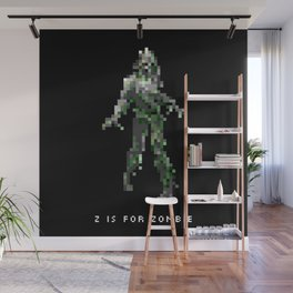 Z is for Zombie Wall Mural