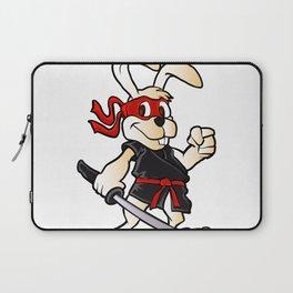 ninja rabbit cartoon Laptop Sleeve