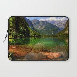 Berchtesgaden National Park Lake Konigssee mountains summer Alps Bavaria Germany Europe Laptop Sleeve