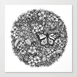 Nature Sampler Canvas Print