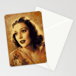 Loretta Young, Hollywood Legend Stationery Cards