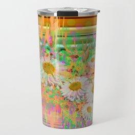 Daisy Cascade Travel Mug