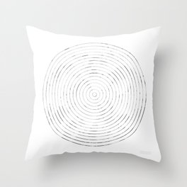 GEOMETRIC MARKS // CASTLE Throw Pillow