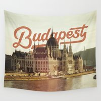 budapest Wall Tapestries featuring Budapest by Amigo Vic