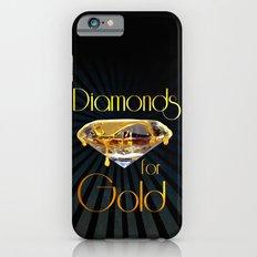 Diamonds for Gold Minimal Slim Case iPhone 6s