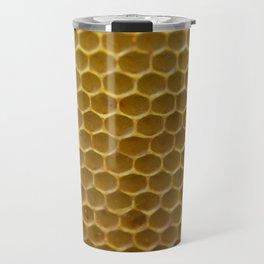Bees work - Ruche d'abeille - #animal Travel Mug