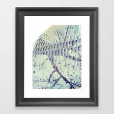 Melbourne Multiple Exposure Framed Art Print