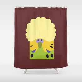 English Budgerigar 2 Shower Curtain