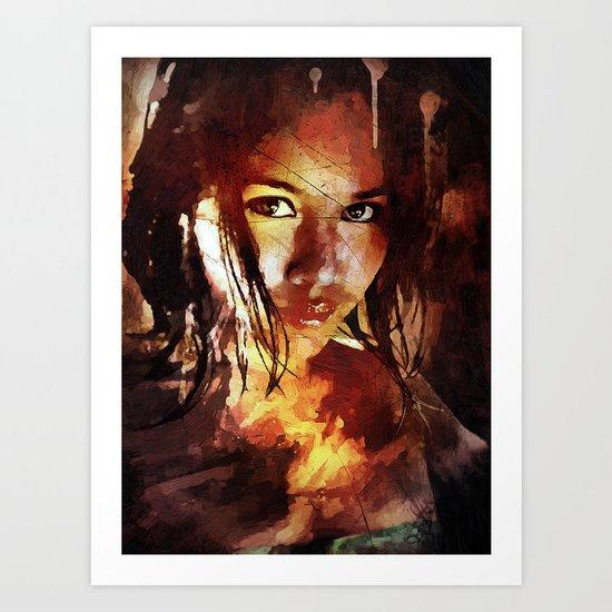 Syren Art Print