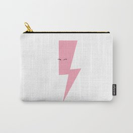 Pink Thunderbolt Carry-All Pouch