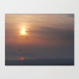 soft sky Canvas Print