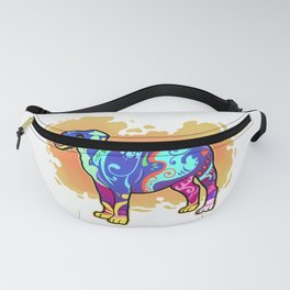 Cute Pitbull Puppy Print Pit Bull Puppy Gift Product Fanny Pack