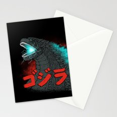 Mighty Kaiju Gojira Stationery Cards
