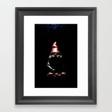 If you go down to the woods tonight Framed Art Print