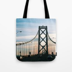 Bay Bridge Tote Bag