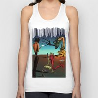 surrealism Tank Tops featuring Surrealism No.1-4 by WROSIV