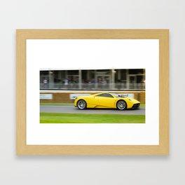 Huayra  Framed Art Print