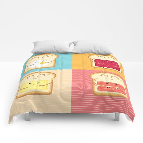 Love your Breakfast Comforters