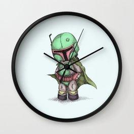 Plushie Fett Wall Clock