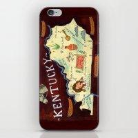 kentucky iPhone & iPod Skins featuring Kentucky by Christiane Engel