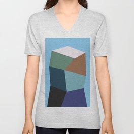 Polygon Art XIX Unisex V-Neck