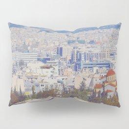 Ancient Cityscape Pillow Sham