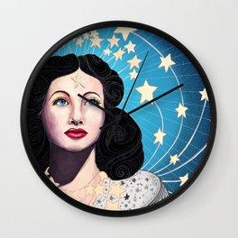 Hedy Lamarr Wall Clock