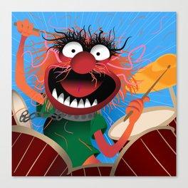 Animal Muppets' Drummer Canvas Print