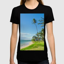 Waipuilani Beach Kihei Maui Hawaii T-shirt