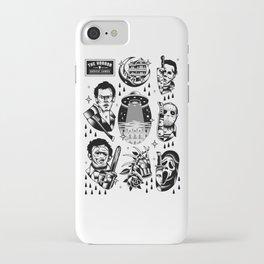 Classic Horror Tattoo Set iPhone Case