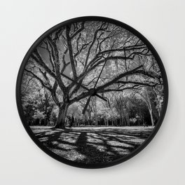 Big Tree Branches Wall Clock