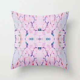 candy reflections Throw Pillow