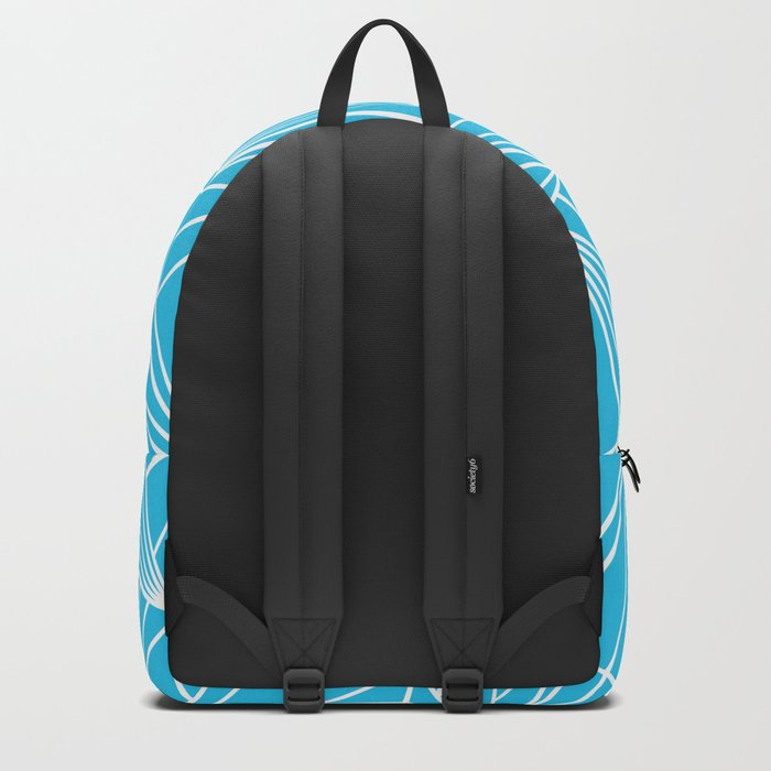 Ab Fan Electric Blue Backpack