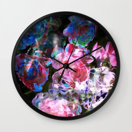 Rose Exposures Wall Clock