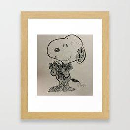 Brat Doll Art - ZenSnoopty Framed Art Print