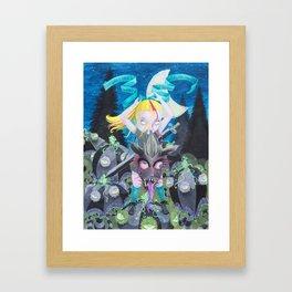 Girl Ever After Framed Art Print