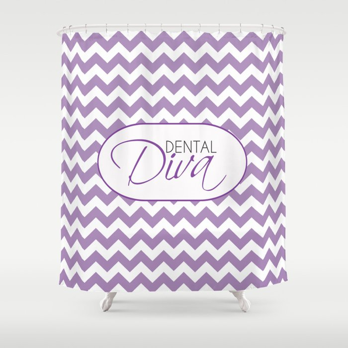 Dental Diva Shower Curtain by proboutique | Society6