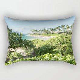 Mokapu Ulua Beach Wailea Maui Hawaii Rectangular Pillow