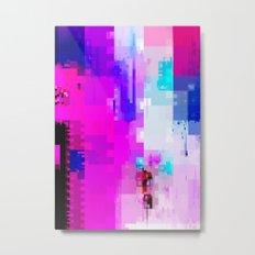 GLITCH ART 8 Metal Print