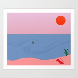 Swell // Farewell Art Print