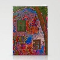 colombia Stationery Cards featuring MAGIC HOUSE BOGOTA COLOMBIA by Alejandra Triana Muñoz (Alejandra Sweet