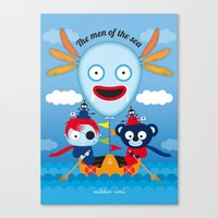 hook Canvas Prints featuring Hook by mikko umi